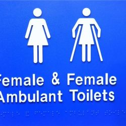 female and female ambulant